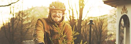 Jag väljer att cykla